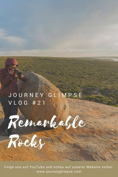 Vlog 21 führt uns zu den umwerfenden Remarkable Rocks. Wunderschöner Sonnenaufgang inklusive. Kangaroo Island, Journey, Rock, Beach, Water, Travel, Outdoor, Sunrise, Australia