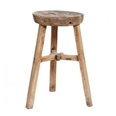 HÜBSCH -stool for the bathroom