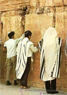 MURO DE LAS LAMENTACIONES ISRAEL JERUSALEN TARJETA POSTAL SIN CIRCULAR