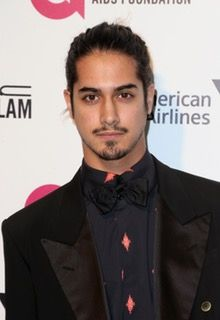 Avan Jogia Pairs A Printed Shirt With Black Suit Modern Style Boho
