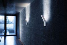 Applique murale contemporaine / en verre soufflé / en aluminium / en thermoplastique PLATONE by Filippo Protasoni PRANDINA