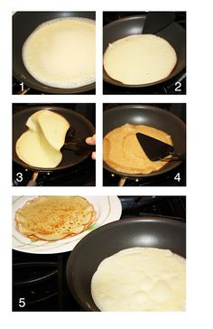 Many little things make me happy: How to make crepes - step-by-step instructions.