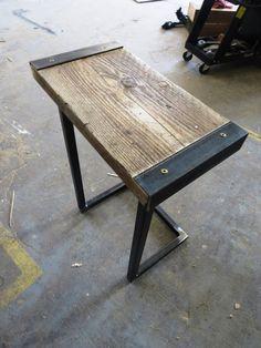 Reclaimed Industrial Chic Style Solid Wood & Metal by RetroCorner1