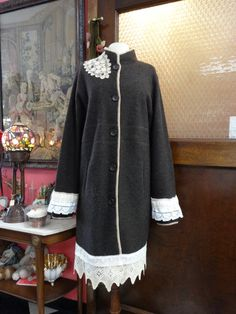 Hey, I found this really awesome Etsy listing at https://www.etsy.com/listing/209340467/long-sweater-coatupcycled-coatbohemian