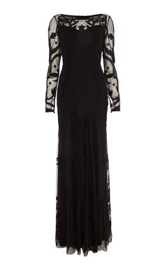 Temperley London LONG FRANCINE TATTOO DRESS £2,495.00 December 2014