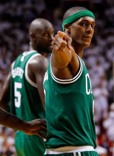 Rajon Rondo #9 Of The Boston Celtics Points