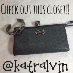 Authentic COACH Signature Wallet. @katralvin DO NOT BUY THIS LISTING!! Go to this closet...@katralvin to shop this item and other beautiful things. Brands like Coach, Kate Spade, Nike, etc. All NWT items!! Coach Bags