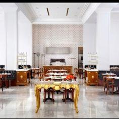 Interior inspiration at one of my favorite restaurants. Botegga Louie.