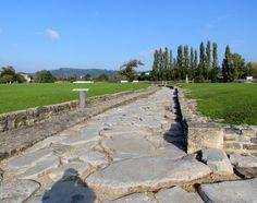 Site archéologique de St-Romain-en-Gal - Voie romaine
