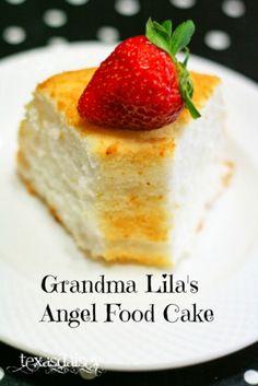 Grandma Lila's Angel Food Cake