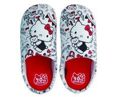 ! 40th Anniversary ★ Hello Kitty slippers | Goods | Hello Kitty 40th Anniversary Special Site
