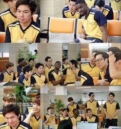 Actor Lim Won Hee, comedian Kim Young Chul, chef Sam Kim, former pro basketball player Kim Seung Hyun, actor Lee Kyu Han, actor Jung Kyu Woon, Super Junior's Kangin, Untouchable's Sleepy, Sam Ochiri, and Boyfriend's Youngmin and Kwangmin