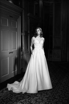 A Line Bridal Gowns, A Line Gown, Bridal Collection, Editorial Fashion, One Shoulder Wedding Dress, Luxury Fashion, Glamour, Elegant, Viktor Rolf