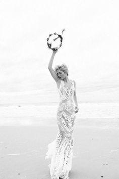 Bohemian Brides / Styled Shoot with Samara Weaving / Wedding Style Inspiration / LANE (instagram: the_lane)