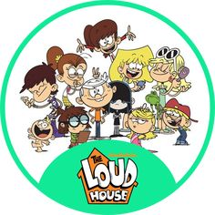 The Loud House - Tano Upload Cartoon House, Cartoon Tv, Loud House Characters, Disney Characters, Deadpool Wallpaper, Nickelodeon Shows, Aesthetic Pastel Wallpaper, Home Wallpaper, Home Logo