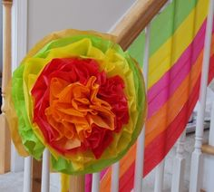 Amelia B's Birthday / Fiesta - Photo Gallery at Catch My Party Crepe Paper Streamers, Birthday Parties, Birthdays, Childhood, Party Ideas, Crafty, Rose, Flowers, Kids