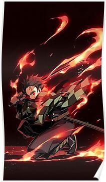 Demon Tanjiro Poster