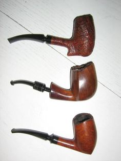 Old danish pipes made by Noerding and Celius