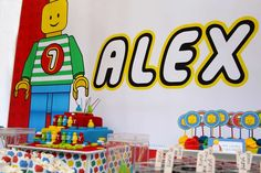 Colourful and fun Lego Birthday Party Ideas | Photo 1 of 34 | Catch My Party