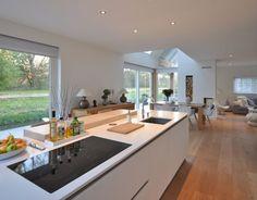 Woning Gele Lis Den-Haag - Decoration For Home Küchen Design, Interior Design, Modern Design, Open Plan Kitchen Living Room, Cuisines Design, Home Kitchens, Kitchen Remodel, Kitchen Decor, Sweet Home