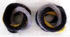 LOVE these interlocking bracelets---am going to make these next.