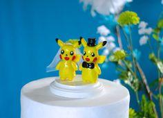Pikachu Wedding Cake Toppers Custom By Rinyrinri