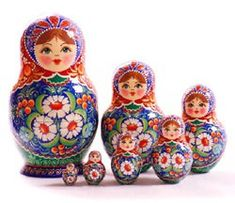 Nesting Doll Named Matryoshka :: Manners, Customs and Traditions :: Culture & Arts :: Russia-InfoCentre