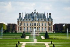 Chateau de Sceaux, France