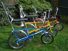 raleigh choppers in the sun by chopperwazza, via Flickr