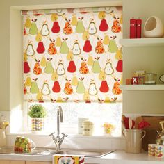 find this pin and more on ideas en casa - Kitchen Blinds Ideas