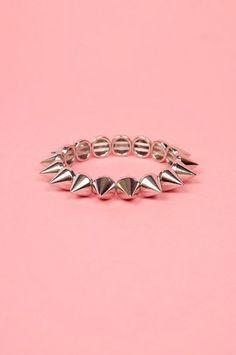 Spike Around Bracelet $18 at www.tobi.com