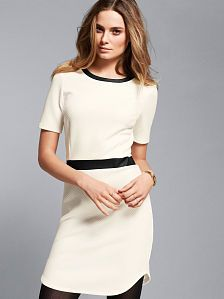 Quilted Sheath Dress
