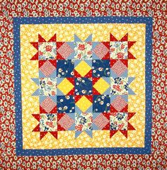 Magic Stars Quilt Pattern  SO Fast and Easy PDF by feedsax on Etsy, $4.95