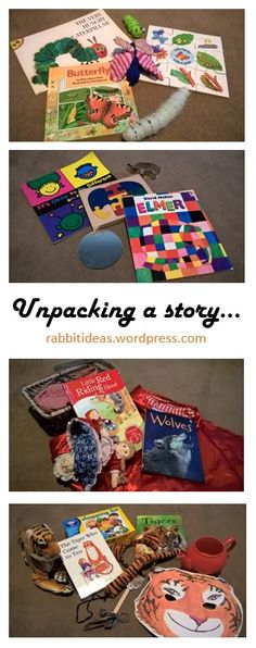 #storytelling Literacy ideas for toddlers, on a budget.