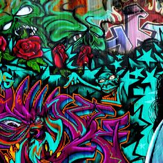 Graffiti Colors Wallpapers - Tap to see more GRAFFITI/ COLOURFUL ART DESIGN /UNIQUE PAINTING SPRAY STREET WALL android wallpapers - @mobile9