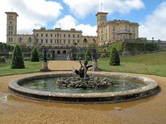 Osborne House, home to Queen Victoria & Prince Albert, Isle of Wight