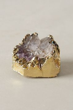 Geode details for your tablescape