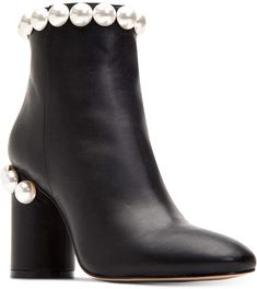 Katy Perry Opearl Block-Heel Booties Women's Shoes