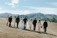 Kimberley + Simon's stunning New Zealand Wedding.  Kimberley wore the Lottie gown from the KWH by Karen Willis Holmes collection. Photographer – Nat from @alpineimageco //Florist – The Flower Room.  Follow us @kwhbridal