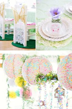 Magical & Elegant Butterfly Garden Tea Party