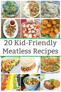 Sep 2019 - Check out this collection of delicious kid-friendly meatless recipes. Whether your vegetarian or just want to add more kid-friendly meatless recipes to your rotation. Instapot Vegetarian Recipes, Vegetarian Sweet Potato Recipes, Vegetarian Recipes Videos, Vegetarian Meals For Kids, High Protein Vegetarian Recipes, Meatless Recipes, Crockpot Recipes, Kid Recipes, Mediterranean Vegetarian Recipes