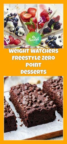 Weight Watchers Freestyle Zero Point Desserts | weight watchers cooking