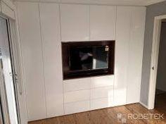 Resultado de imagen para fitted wardrobes bedroom tv