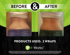 Forget back fat, wrap!  www.ccbodywraps.com