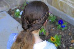 Braid Flip Combo Hairstyle | Cute Girls Hairstyles