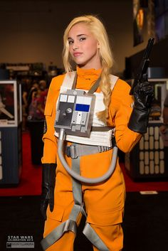Star Wars Celebration 2015 - Star Wars Cosplay - Star Wars Cosplay news - - Epic Cosplay, Amazing Cosplay, Cosplay Outfits, Cosplay Girls, Star Wars Poster, Star Wars Art, Lego Star Wars, Star Trek, Disfraz Star Wars
