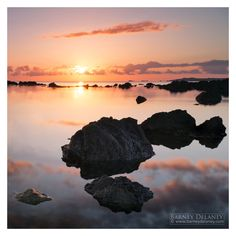 Landscape Photography, Wales landmarks. Rhosneigr sunset. Seaside Village, Anglesey, Art Boards, Great Places, Wales, Landscape Photography, Coastal, Cymru, Island