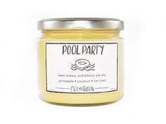 POOL PARTY by Evil Queen! Sassy candle. www.shopevilqueen.com