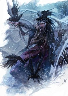 the 3 faces of the Morrigan - The Morrigan is a Triad: Macha, beautiful warrior goddess who strengthened soldiers; Babh, who came in form of raven, washed the armor of soldiers picked to die and Nemain, who watched the battle from afar as a serpent and decided the turn of battle.