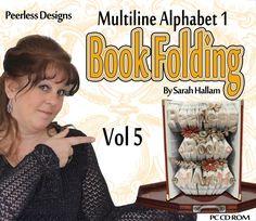 Book Folding Multiline Instructions